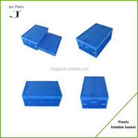 Foldable plastic crate for duck and egg