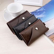 Hot style leather keychain holder wallet