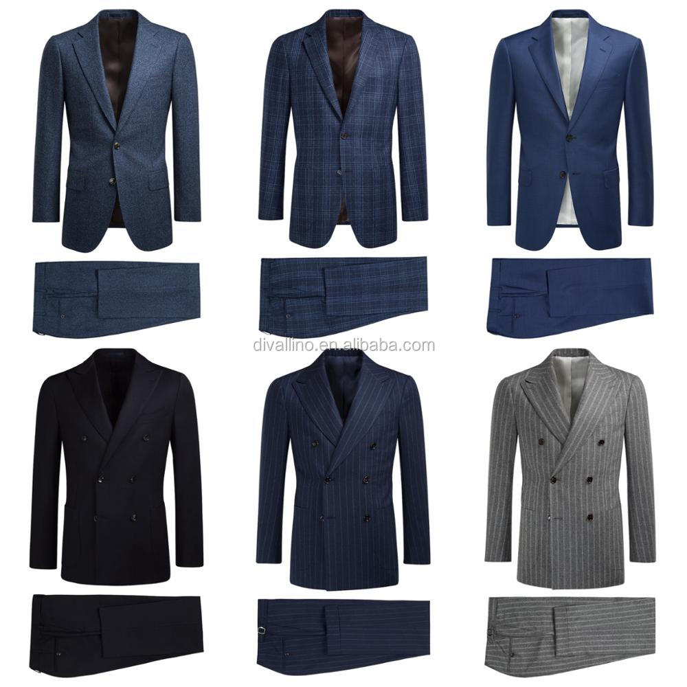 2018 One-stop Factory of Man Double Breasted Wool Suit with Factory Wholesale Prices
