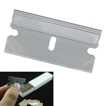 CN058 100pcs/lot 1.5 inch razor carbon steel blade