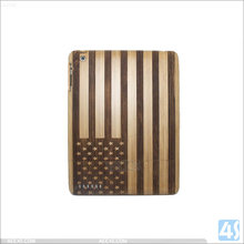 Bamboo Hard Case cover for iPad 2/3/4 ,shockproof tablet case for 7/9.7inch