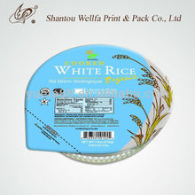 RCPP sealing lids film for cooking rice microwave packaging