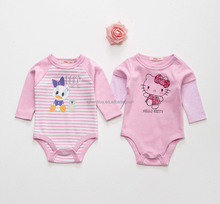 baby romper with front print and oeko-tex 100 certificate, high quality cotton, with WRAP and BSCI certificate