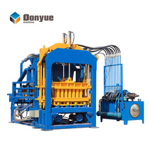 cement sand hollow block making machine QT4-15 equipment for the production of cinder blocks