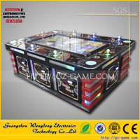 Newest best selling casino coin pusher game machine, shooting dragon fish game machine for mall