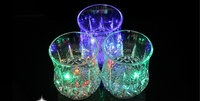 Cheap new products flashing led glass beer cup