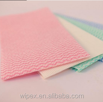 China Supplier  Dish Cloth Roll Disposable Dry Wipes