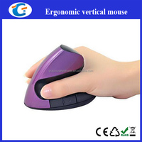 Delux Ergonomic Vertical 2.4 G Wireless Mouse with charging for laptop
