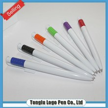 New style rubber ball-point pen with custom logo