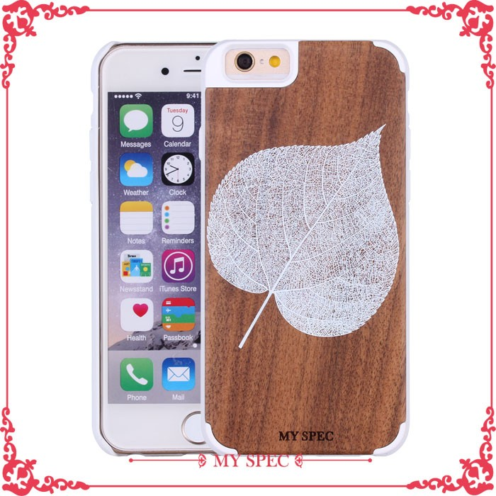 2017 New Fashion Custom color wood case safety cover for mobile phone