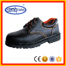 New design working genuine leather safety shoes