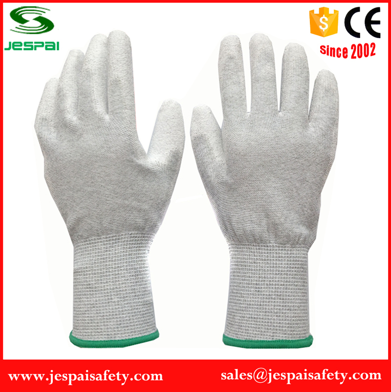 factory price work pu safe job gloves