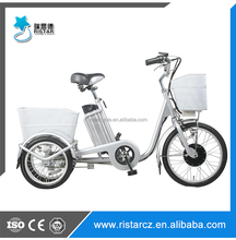 RSD-704 36v 250w three wheel trike little electric tricycle for adults