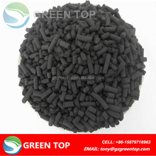 Impregnated activated carbon for natural gas treatment