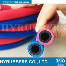 Industrial Rubber Hose Oxygen Acetylene Twin Welding Hose, water air rubber hose