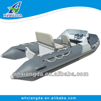 inflatable aluminum yacht