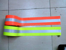 High Visibility Colorful 3M Clear Reflective Tape Flame Retardant Lime Green Reflective Tape