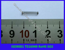 ISO9001,TS16949, RoHS compliant small compression springs