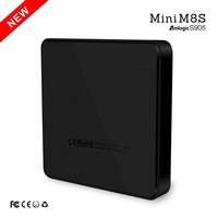 New Mini M8s HOT new arrival android 5.1 quad core mini m8s tv box in hot selling market