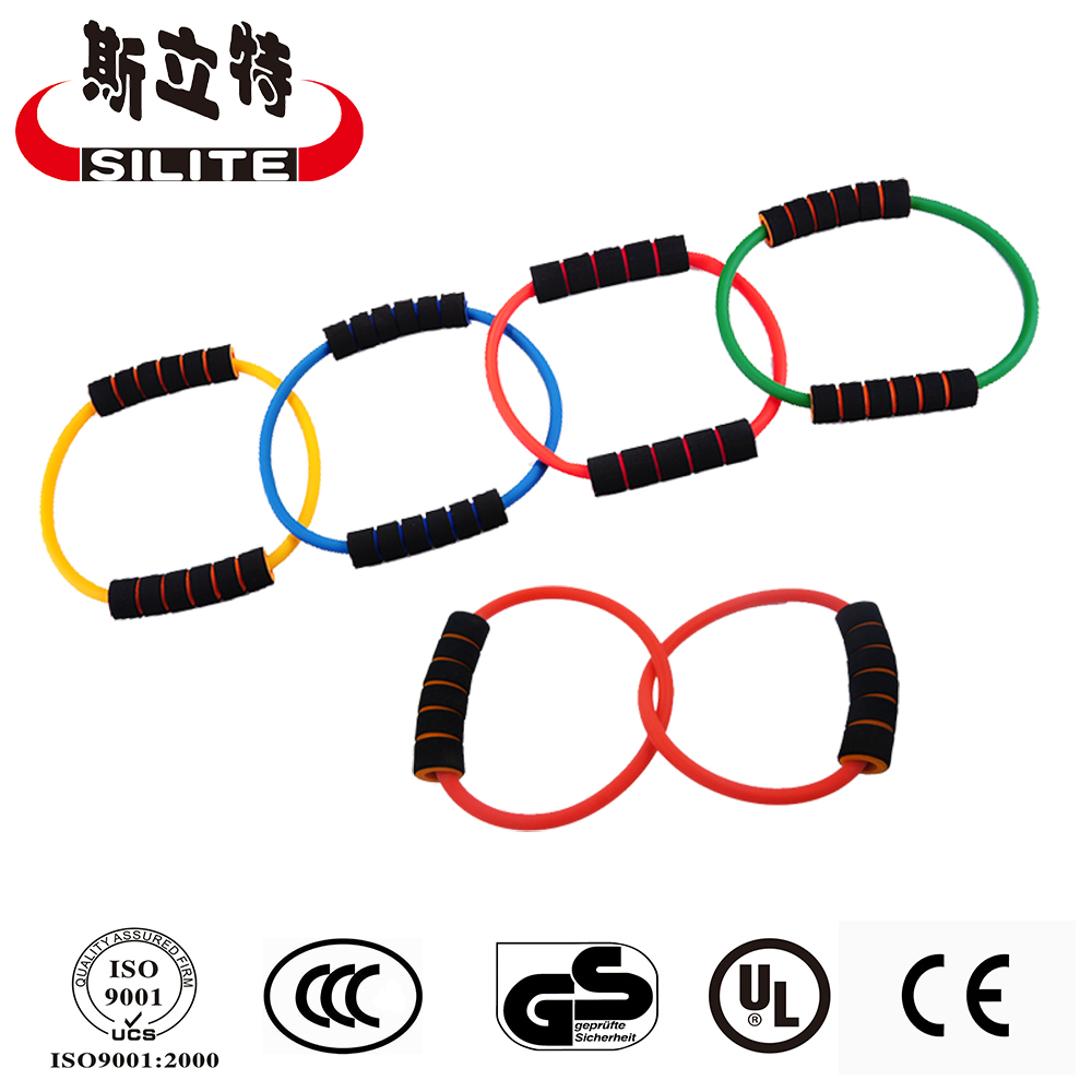 2 Pcs Resistance Loop Band Tube for Yoga Exercise Fitness