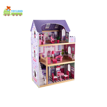 Educational Mini Sweet Wooden House Toy