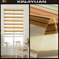 100% Polyester eco-friendly zebra blinds fabrics for wholesale