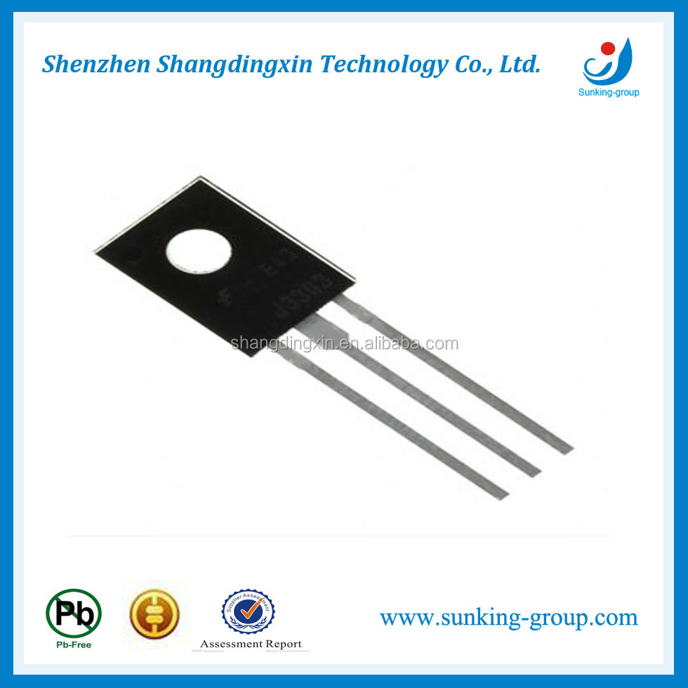 Hot sale High efficiency Electronic Triac transistors BT134 TO-126