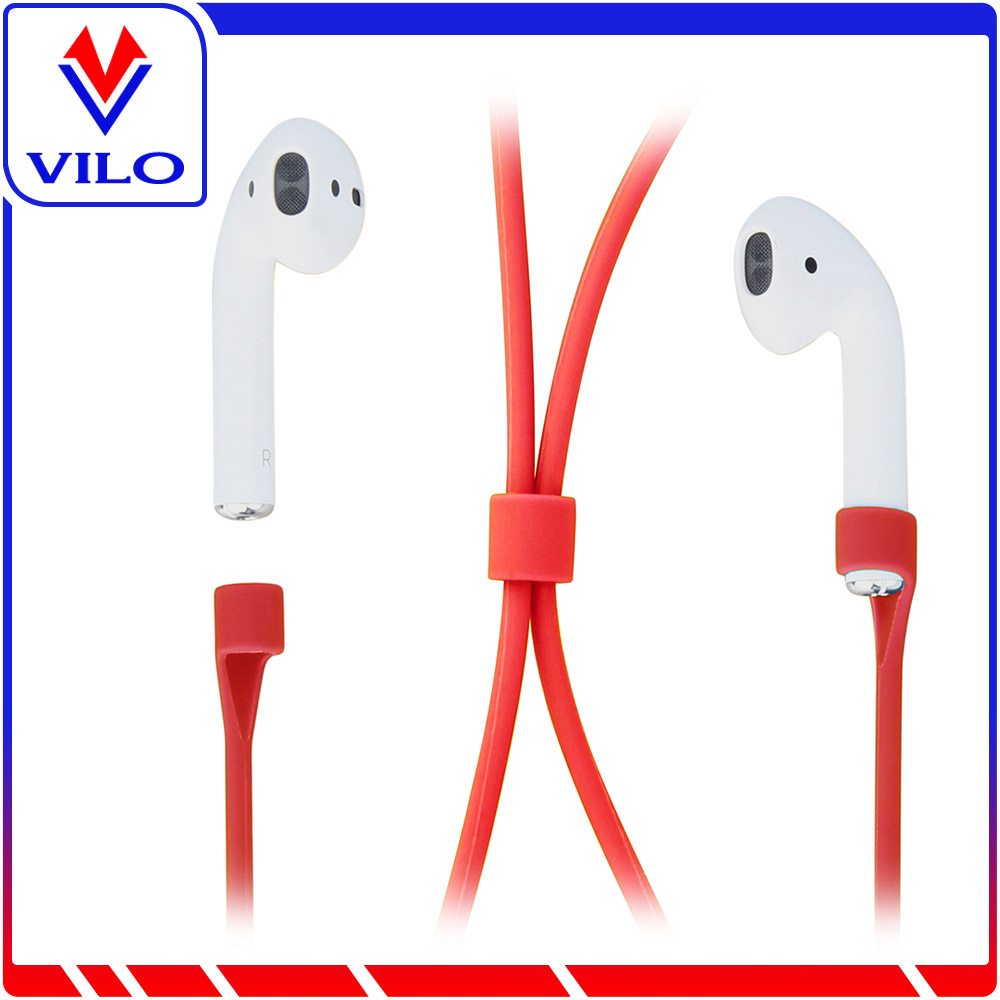 Rubber Strap Wire Connector Auti Lose Cable For Apple Iphone Airpods Straps
