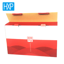CMYK and any pantones printing colored shipping packing box wholesale