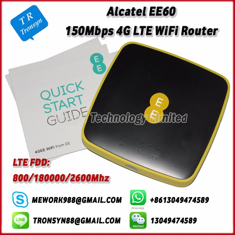 150Mbps Pocket 4G Mini WiFii Router With Sim Card Slot Support LTE FDD B3 B7 B20 With 5150mAh Battery For Alcatel EE60