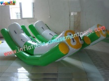 2016 Popular Inflatable Sky Totter , Sky Totter Teeter For Pool , Lake