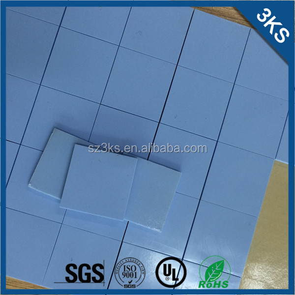 Gap filler silicone sheet heatsink thermal insulator pad