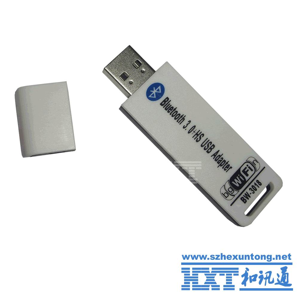 2 in 1 USB 2.0 to Bluetooth v3.0 3.0 & WiFi 150Mbps 150M Wireless LAN Network Ethernet Card Adapter