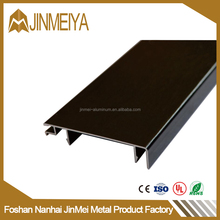 2017 Hot PVC Waterproof Aluminum Skirting Boards Metal Flooring Accessories Profile For Wall Protection