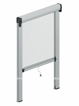 Diy window screen buy diy window screen retractable for Pull down fly screen for doors