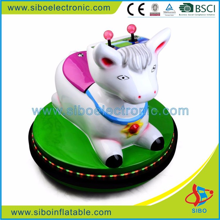 Best selling fiberglass body mini car,animal ride bumper car for child