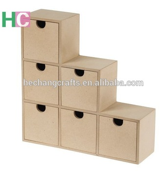 Hot selling mdf wooden box with low price