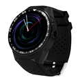 Full round screen wifi gps android smart watch heart rate monitor