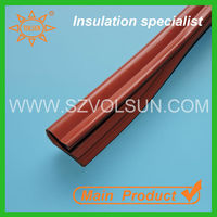 Outdoor red silicone rubber cable cover high voltage