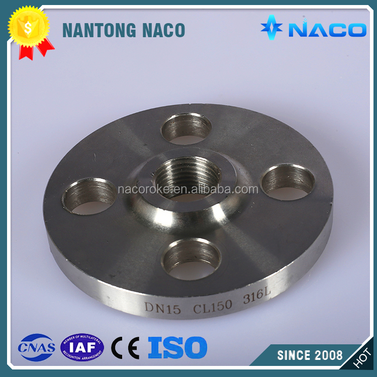 Stainless Steel Tapped Flanges,Pipe Fitting Flanges,Anodized Milling Parts