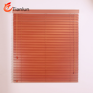 Interior decoration Basswood Wooden Venetian window Blinds