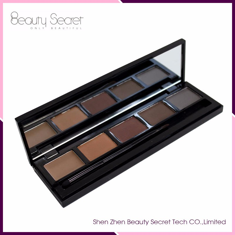 Manly cosmetics 5 color morph eyeshadow palette for girls