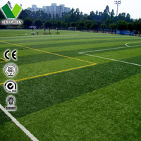 Ornamental Design Football Pitch Grass Carpet
