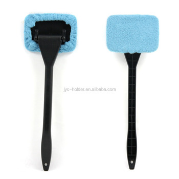 Microfiber Auto Window Cleaner Long Handle Car Wash Brush
