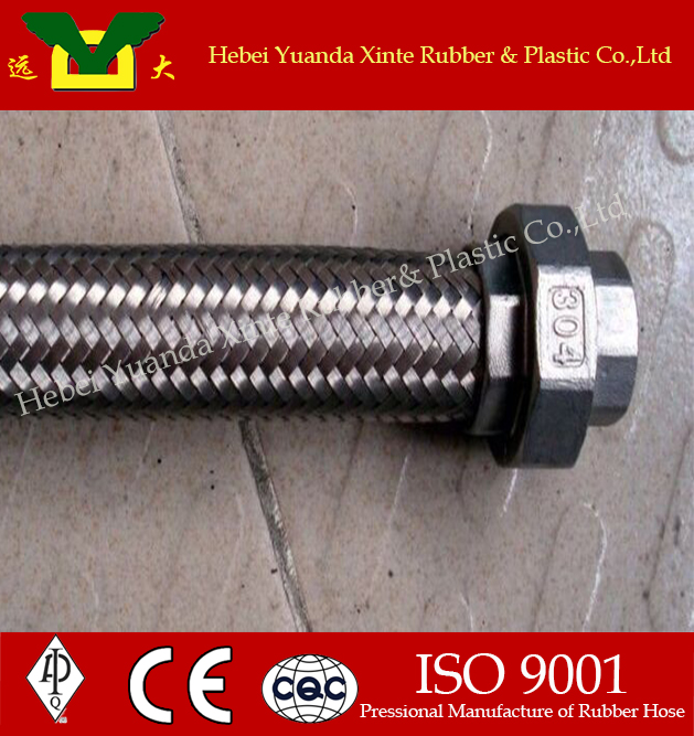High quality of stainless steel braided teflon <strong>hose</strong>