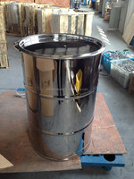 55 gallon stainless steel drum for sale/stainless steel drum set/steel drums manufacturers