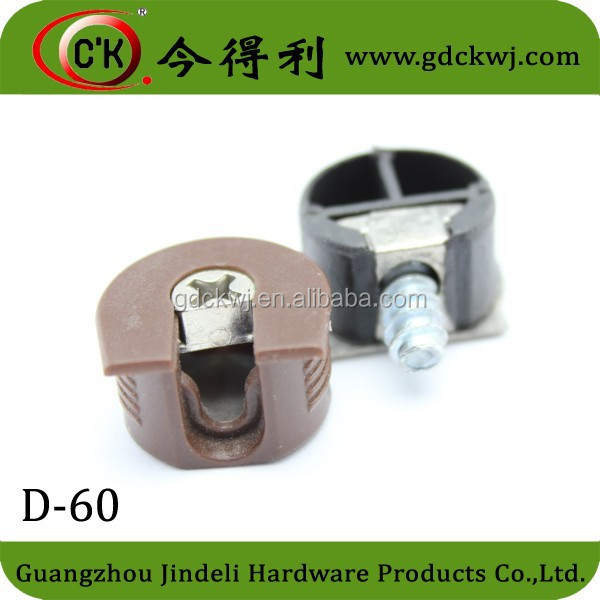 High quality plastic material cabinet shelf clips