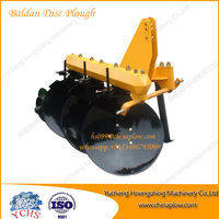 Farm machine one way disc plough moldboard plough for walking tractor