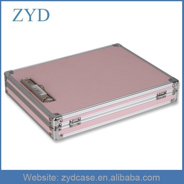 New Design Girl Notebook Case, Attache Suitcase, Pink Aluminum Briefcase ZYD-SM111303