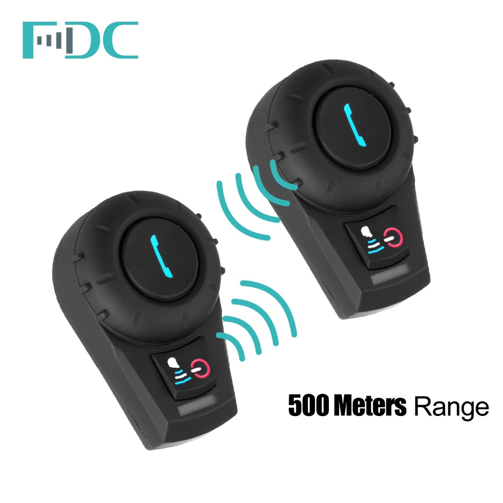 500M Waterproof Motorcycle BT Interphone Helmet Intercom Headset bluetooth speaker motorcycle